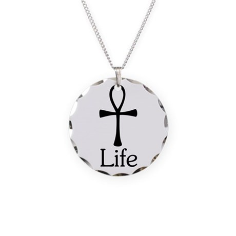 Ankh :: Life Necklace Circle Charm