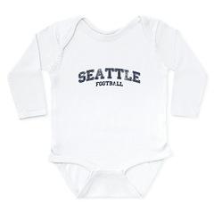 Seattle Football Long Sleeve Infant Bodysuit