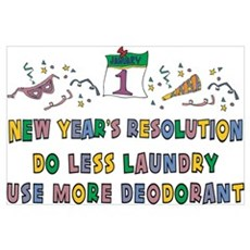 New Year's Resolution Poster