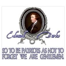 Edmund Burke: Patriots & Gent Poster
