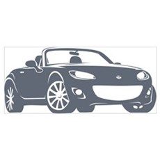 Gray Miata NC2 Canvas Art