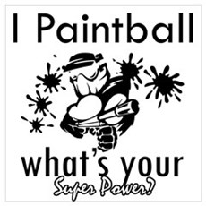 I Paintball Poster