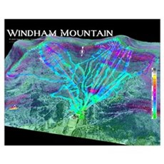Windham Mountain Framed Print