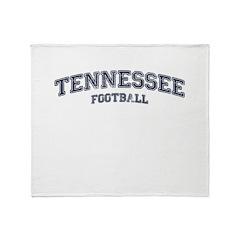 Tennessee Football Throw Blanket