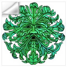Green Man Gaze Wall Decal