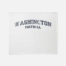 Washington Football Throw Blanket