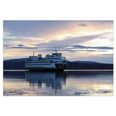 -Scenery (Ferry) Framed Print