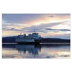 -Scenery (Ferry) Poster