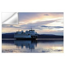 -Scenery (Ferry) Wall Decal