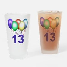 13 Gifts Drinking Glass