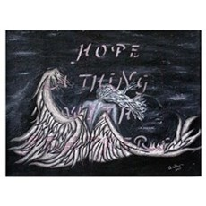 Crying Angel Hope Poster