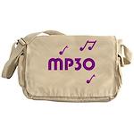 MP30, 30th, MP3 Messenger Bag