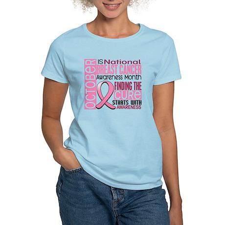 Breast Cancer Awareness Month Women's Light T-Shir