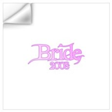 Bride 2008 Wall Decal