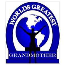 Worlds Greatest Grandmother Framed Print