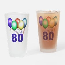80 Gifts Drinking Glass