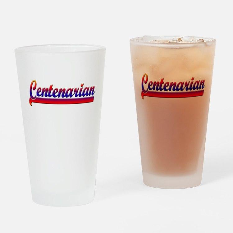 Centenarian Drinking Glass
