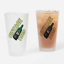 80th Birthday Drinking Glass