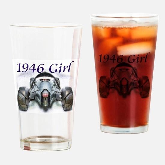 Born in 1946 Car Art Drinking Glass