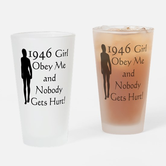 1946, 60th Birthday Drinking Glass