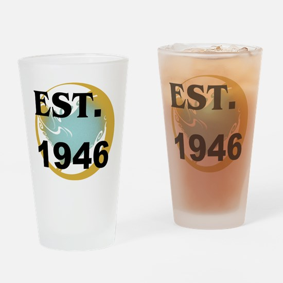 Established 1946 Drinking Glass