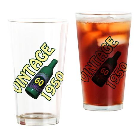 60th Birthday Drinking Glass