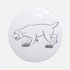 Spinone Ornament (Round)
