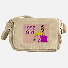 1992 Birthday Girl Messenger Bag