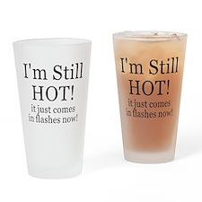 Menopause Humor Drinking Glass