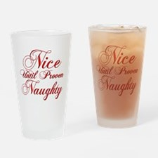 Christmas Humor Drinking Glass