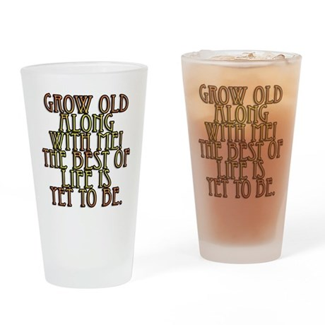 Birthday Quotes Drinking Glass
