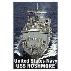 : USS Rushmore Poster