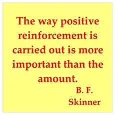 b f skinner quotes Poster