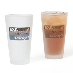 IRS Eagles Drinking Glass