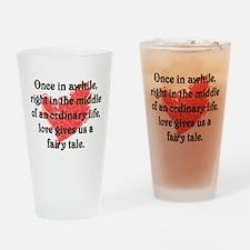 Fairy Tale Love Drinking Glass