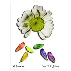 He Loves Me Canvas Art