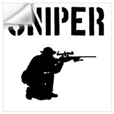 Sniper Wall Decal