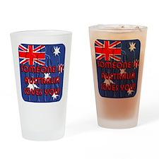 Australia Loves YOU! Drinking Glass
