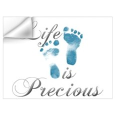 Life Is Precious Wall Decal