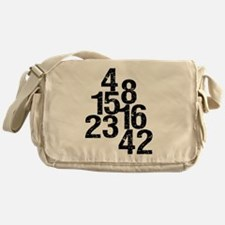Eroded LOST Numbers Messenger Bag