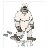 Abominable snowman Wrapped Canvas Art
