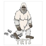 Abominable snowman Posters
