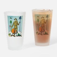Vintage Military Drinking Glass