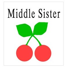 Middle Sister - Cherries Poster