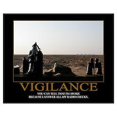 Vigilance Motivational Poster