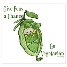 Give Peas a Chance Poster