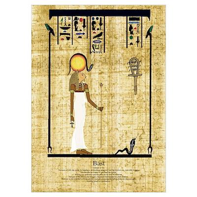 Egyptian Goddess Poster