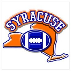 Syracuse Football Framed Print
