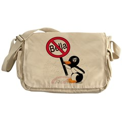 Ban Bella Save the Penguins Messenger Bag