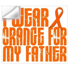 I Wear Orange For My Father 16 Wall Decal